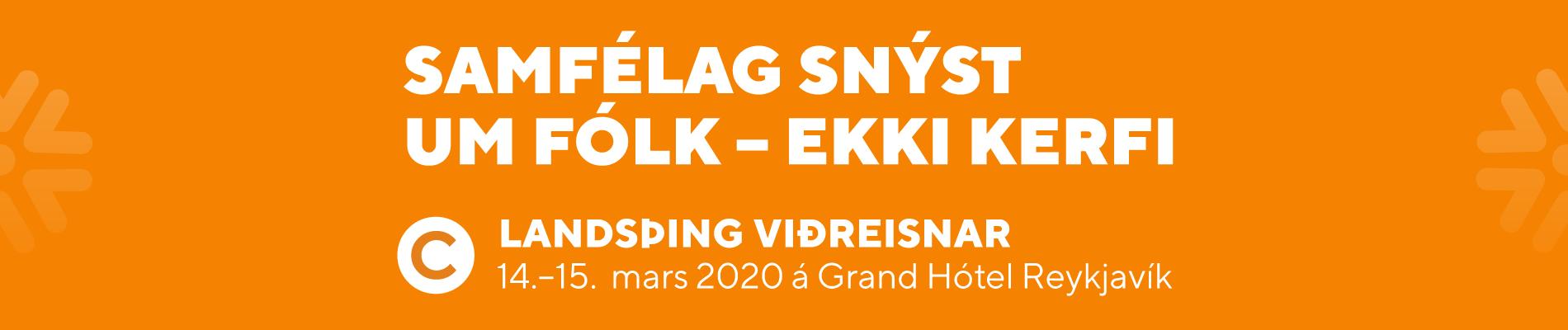 Landsfundur Viðreisnar 2020