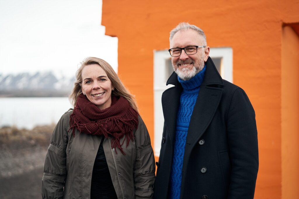 Eiríkur Björn Björgvinsson, Sigríður Ólafsdóttir. Forysta Norðausturkjördæmi Alþingiskosningar 2021