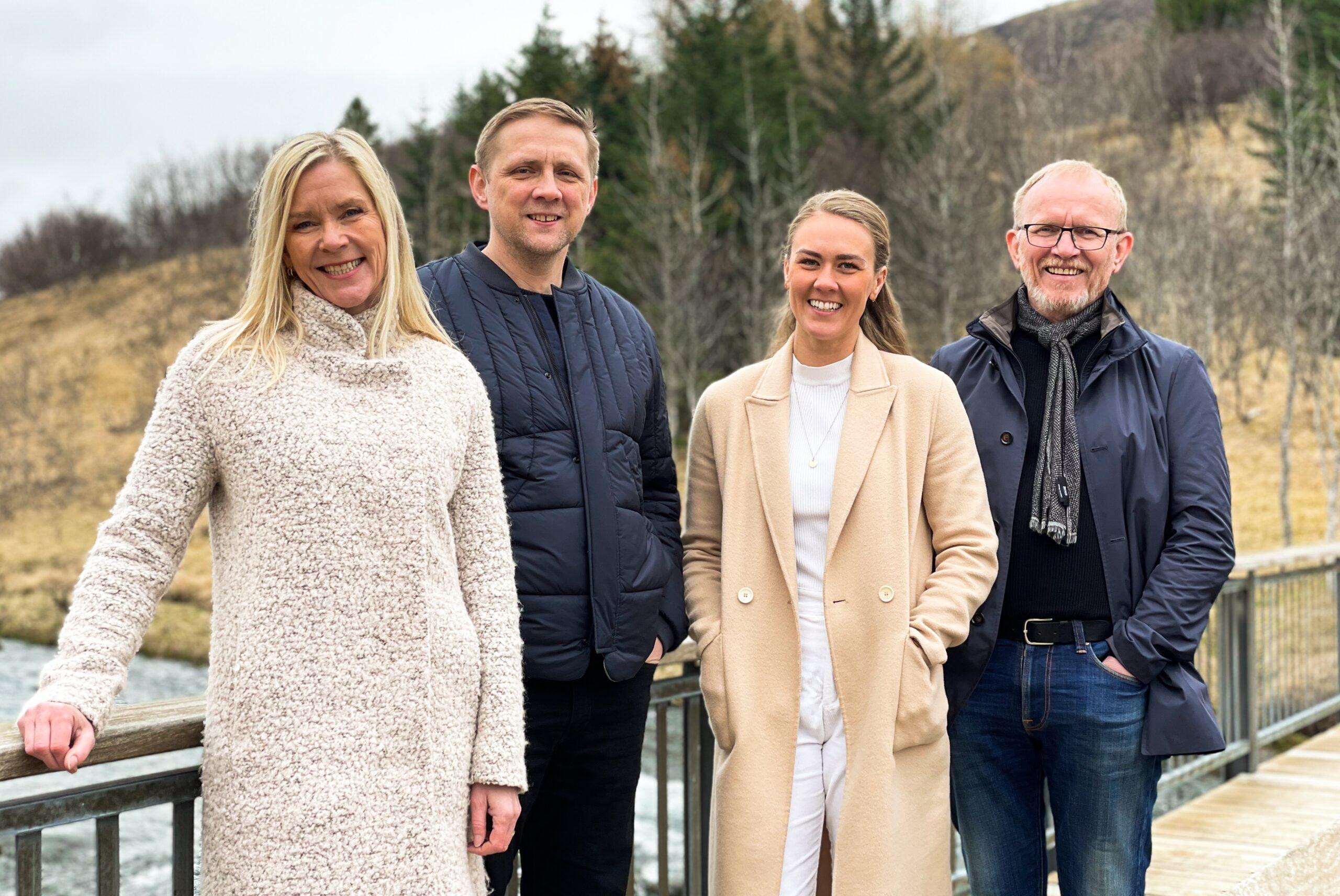 Þórunn Wolfram Pétursdóttir, Sigurjón Vídalín Guðmundsson, Elva Dögg Sigurðardóttir og Guðbrandur Einarsson.